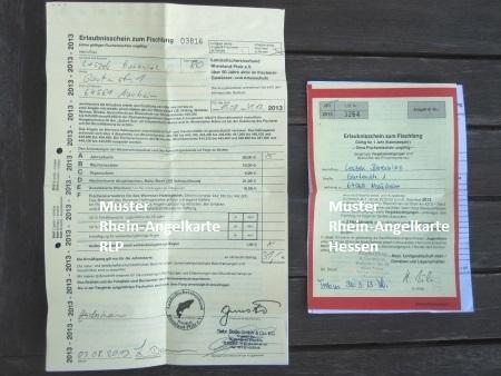Verkaufsstellen Fur Rhein Angelkarten Fischereierlaubnisscheine Fur